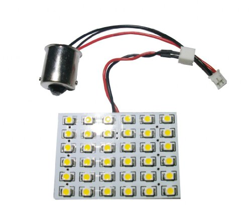 Grv Ba15S 1141 36-3528 Smd Warm White High Bright Led Bulb Lamp Car Interior Dome Dc 12V~ 24V Pack Of 2