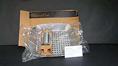 Pampered Chef BBQ Roasting Pan & Can Holder