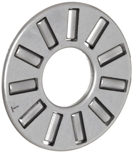 Koyo FNT-5578 Thrust Needle Bearing and Roller, Open, Steel Cage, Metric, 55mm ID, 78mm OD, 3mm Width, 52.9lbf Static Load Capacity, 9.36lbf Dynamic Load Capacity