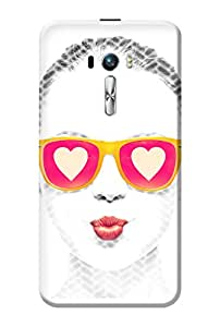 Asus Zenfone Selfie Case Kanvas Cases Premium Quality Designer 3D Printed Lightweight Slim Matte Finish Hard Back Cover for Asus Zenfone Selfie