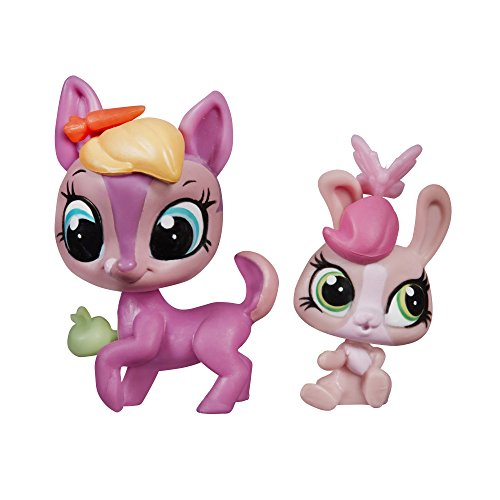 Littlest Pet Shop Pet Pawsabilities Fay Woods & Curtsy Cotton