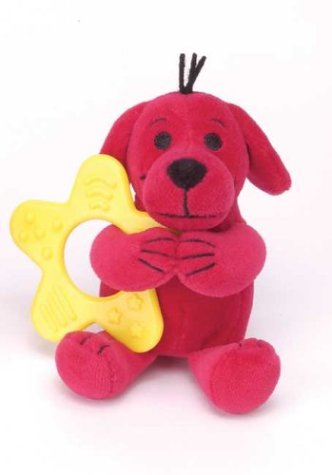 Clifford the Small Red Puppy Teether Rattle 12-Pack