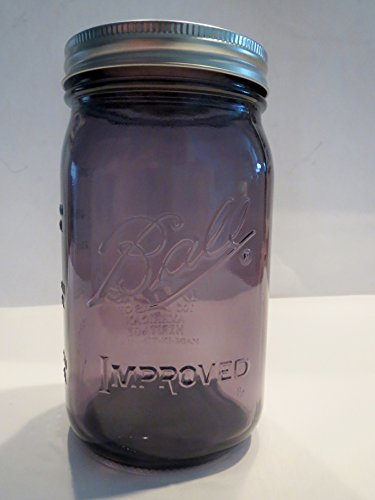 Ball Mason Jar-32 oz. Purple Glass Ball Heritage Collection (Purple Heritage Canning Jars compare prices)