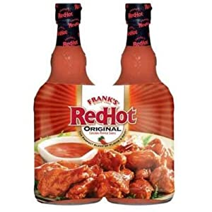Franks Redhot Original Cayenne Pepper Sauce Family Pack 2-23oz Each Bottle