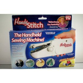 As Seen On Tv Handy Stitch Handheld Sewing Machine by As Seen On Tv