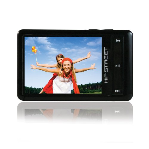 Hip Street HS-57-4GBBK 4 GB Video MP3 Player with 2.4-inch Display (Black)
