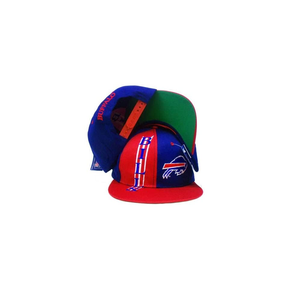 bbc86196c SNAPBACK HAT CAP NFL BUFFALO BILLS OLD SCHOOL VINTAGE DEADSTOCK DREW ...
