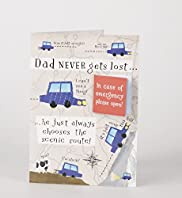 Scenic Route Humour Fathers Day Card