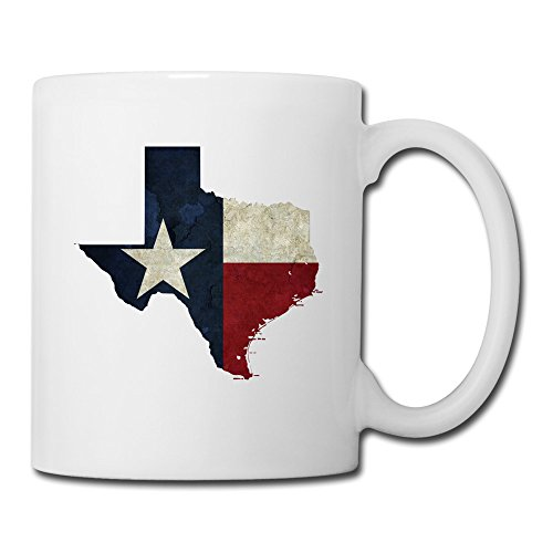 GGTAI State Of Texas DIY White Coffee Cups