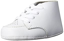 FootMates Baby Boy\'s Crib (Infant) White Leather Oxford 3 Infant M