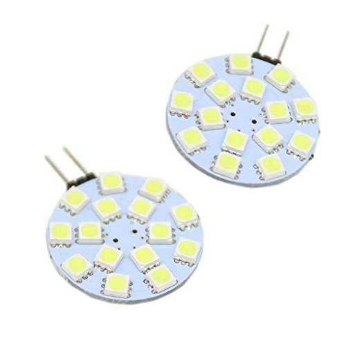 Generic G4 15-Led 3528Smd Led Spotlight Rv Marine Car Light Bulb Lamp 12V Color White