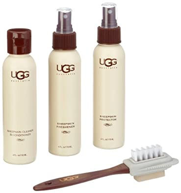 UGG Australia Sheepskin Care Kit Shoe Polish Kits,One Kit