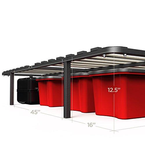 Zinus 14 Inch MyEuro SmartBase/Wooden Slat/Mattress Foundation/Platform Bed Frame/Box Spring Replacement, Queen