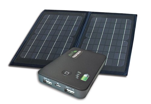 Nature Power 55086 6-Watt Folding Monocrystalline Solar Panel with Power Bank 5.0 (Nature Power Folding Solar Panel compare prices)