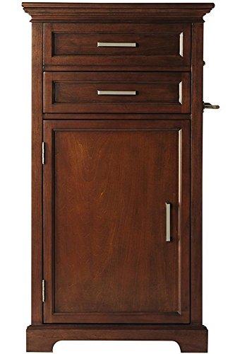 "Accessory Cabinet, 40""Hx22""Wx14""D, Walnut front-1034057"