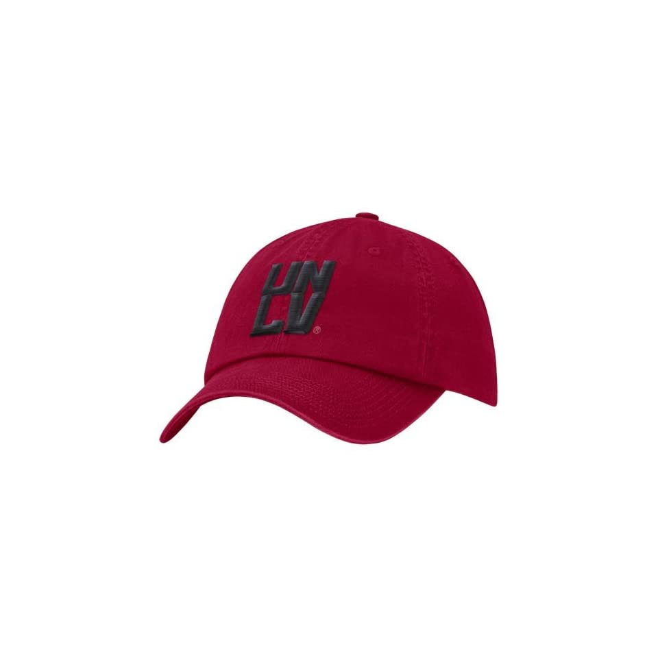 newest bf1f1 8a16e NCAA Nike UNLV Rebels Red 3D Tailback Adjustable Hat