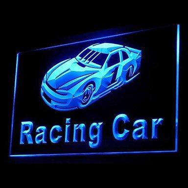 Racing Car Advertising Led Light Sign