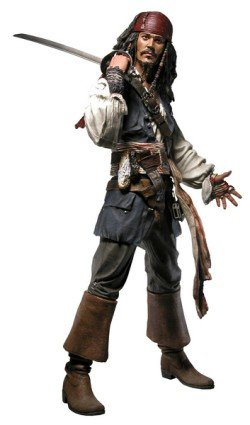 Buy Low Price NECA Pirates of the Caribbean Jack Sparrow 18″ Action Figure (B000MT66NO)