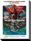 Your Space UK James Bond - The Spy Who Loved Me Box Canvas Art Print 30cm X 40cm