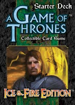 A Game of Thrones Collectible Card Game: Ice & Fire Edition Starter: House Baratheon - 1