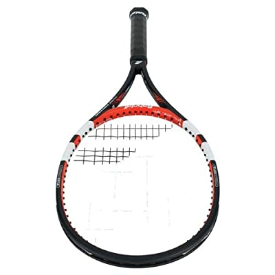 Babolat 101200-144 Pure Control GT Unstrung Tennis Racquet, 4 3/8 (Black/Red)