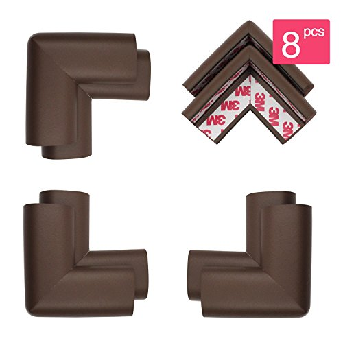 Eudemon 8 Pack Safety Corner Guards With Extra 3m Adhesives Baby Safety Protectors Furniture