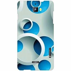 Micromax Canvas Nitro A311 Back Cover - Silicon Blued Designer Cases