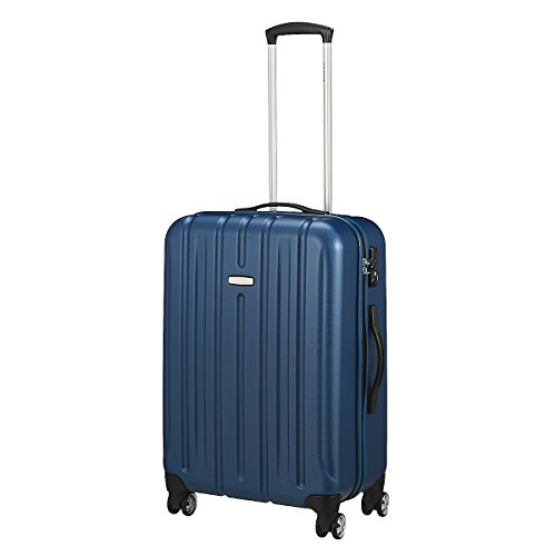 Trolley medio KINETIC 4 ruote cm 65x44x27 lt.70 kg 3,50 colore blu notte