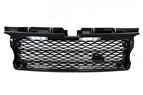 06-09 Land Rover Range Rover Sport Black Honeycomb Mesh Front Grille Oem Replacement 07 08 front-449394