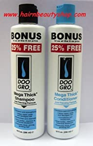 MEGA THICK HAIR LOSS / DAMAGED HAIR / HAIR GROWTH SHAMPOO AND CONDITIONER ****DEAL****