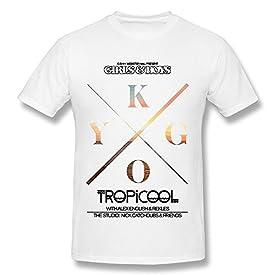 Men's Kygo Album Logo O-neck Tshirt White