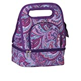 Picnic Plus Savoy Lunch Bag - Purple Envy
