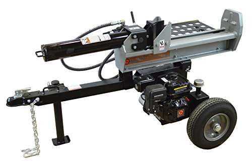 Big Save! Dirty Hand Tools 101278 Half Beam Log Splitter with Loncin 196CC Engine, 22 Tons, Silver/B...