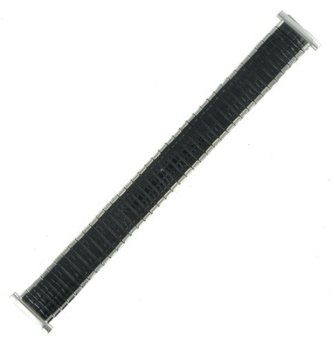 16-19mm Stainless Black Enamel Expansion Watch Band Speidel (Target Watches For Men compare prices)