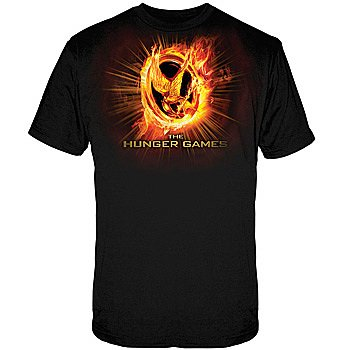 The Hunger Games: Mockingjay Pin Symbol - Officially Licensed Movie T-Shirt
