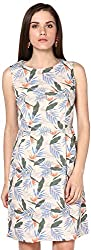 Shibori Women's Dress (Ds1783Co_S, Multi-Coloured, Small)