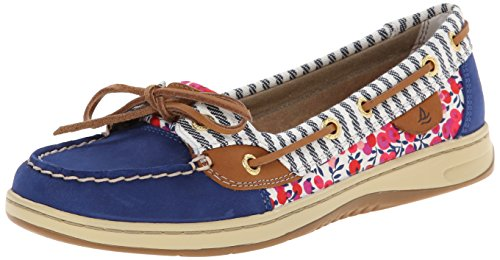 Sperry Top-Sider Women's Angelfish Liberty Boat Shoe, Blue, 7.5 M US