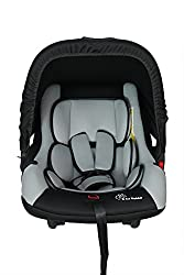 R for Rabbit's Picaboo - Infant Car Seat Cum Carry Cot (Black Grey)