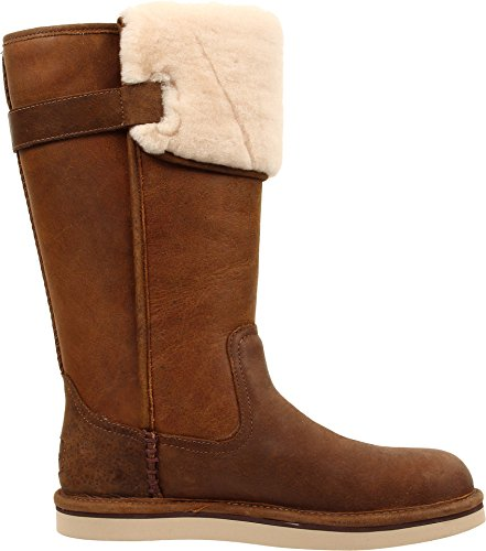 UGG Women's Wilowe Chestnut Leather Boot 8 B (M)