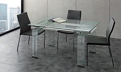 La Seggiola - Tavolo Allungabile Mini Glass 676/2
