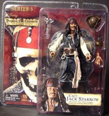 Pirates of the Caribbean Drunk Jack Sparrow Figure Series 3