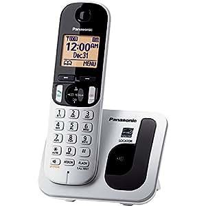 Panasonic KXTGC210S DECT 6.0 1-Handset 1-Line Landline