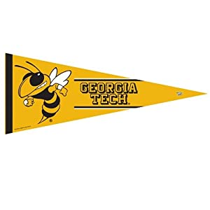 Buy Georgia Tech Yellow Jackets Premium Pennant - 12 X 30 by WinCraft