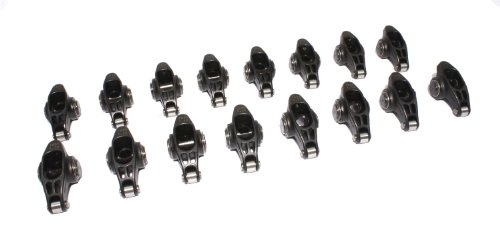 COMP Cams 1833-16 Ultra Pro Magnum 3//8 Stud Diameter XD Roller Rocker Arm for Small Block Ford