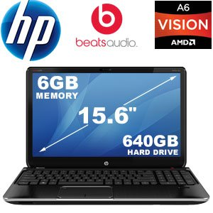 HP Pavilion dv6-7013cl 15.6-Inch Laptop (Black)