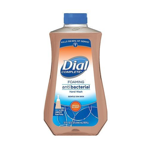 Dial Complete Foaming Antibacterial Hand Wash Refill, Original Scent 32 fl oz (Dial Soap No Scent compare prices)