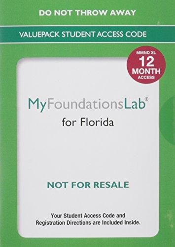 MyFoundationsLab for Florida - Valuepack 12 months (A Spectrum book)