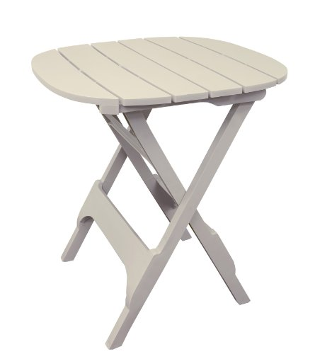 Adams Manufacturing 8561-23-3701 Quik-Fold® Bistro Table, 34-Inch, Desert Clay front-358364