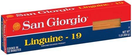 San Giorgio Linguine Pasta 16 oz (Pack of 20)