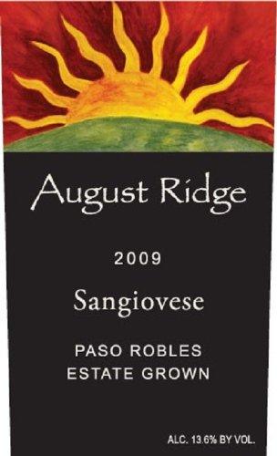 2009 August Ridge Sangiovese 750 Ml